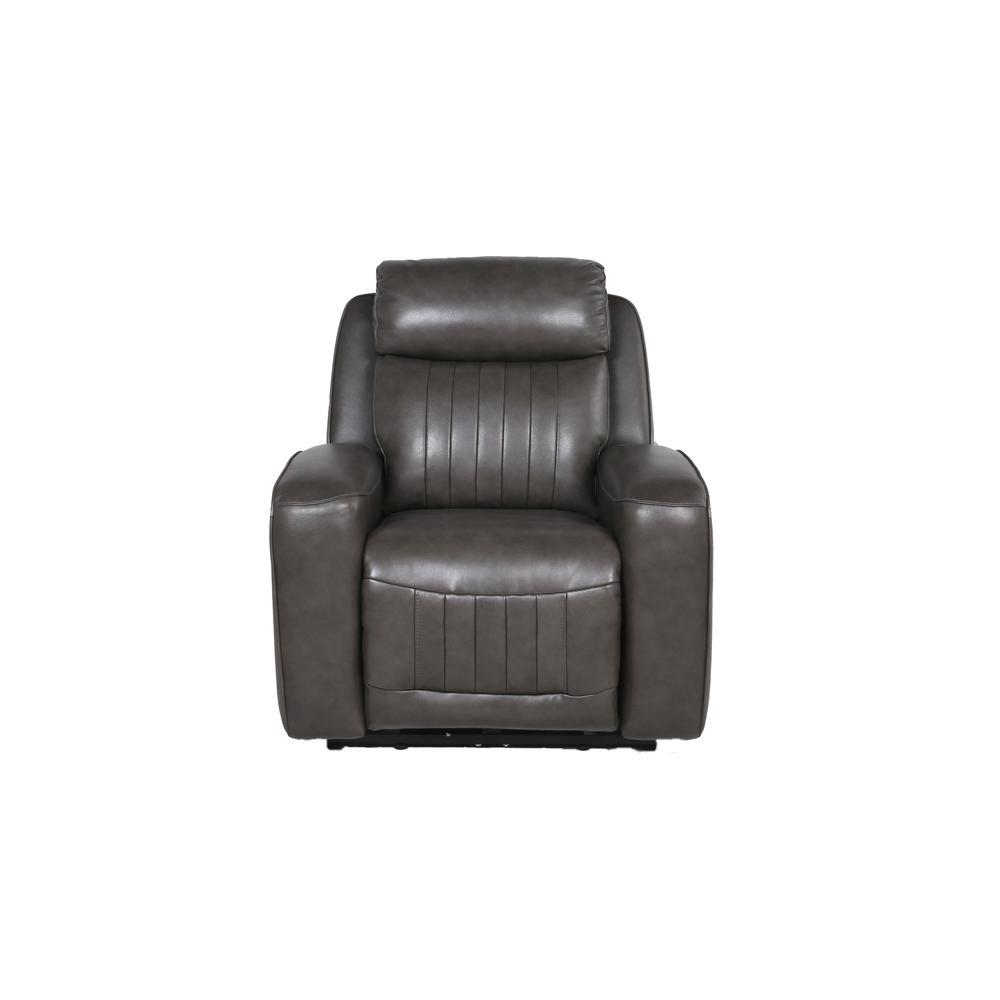 Avila Power Recliner Chair - Slate. Picture 4