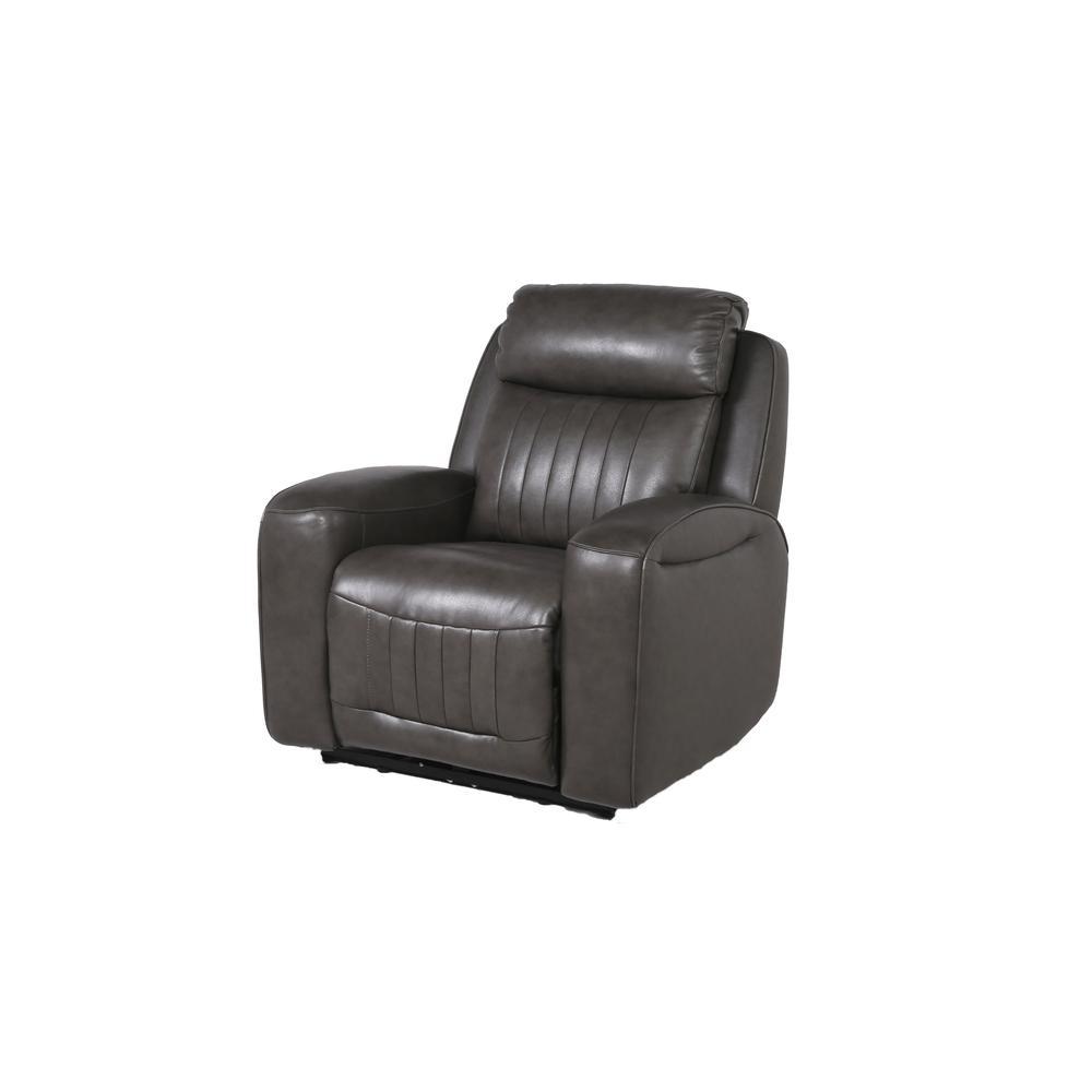 Avila Power Recliner Chair - Slate. Picture 8