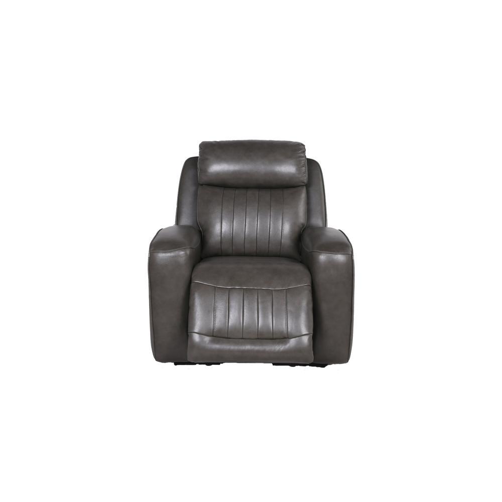 Avila Power Recliner Chair - Slate. Picture 9