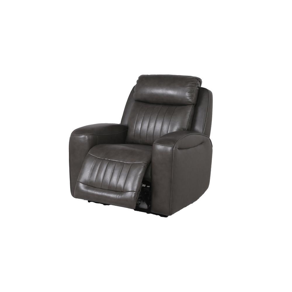 Avila Power Recliner Chair - Slate. Picture 10
