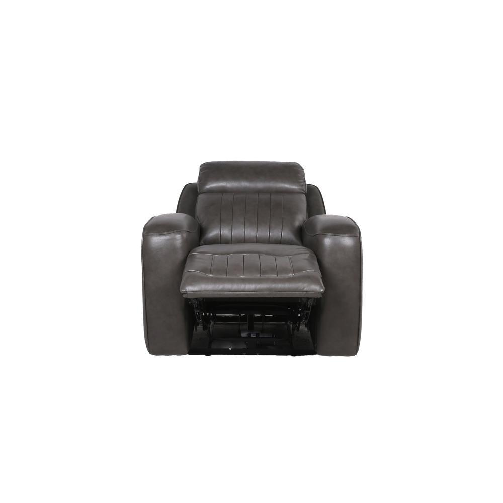 Avila Power Recliner Chair - Slate. Picture 11