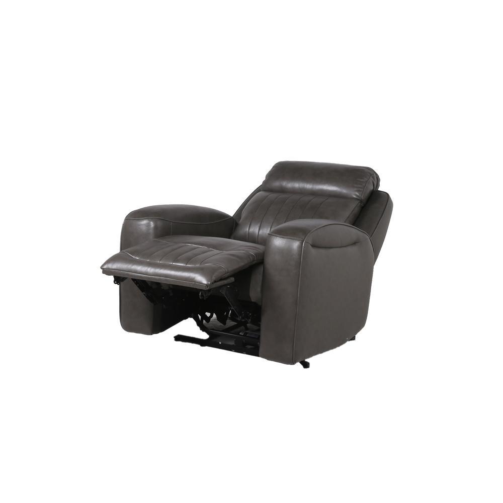 Avila Power Recliner Chair - Slate. Picture 12
