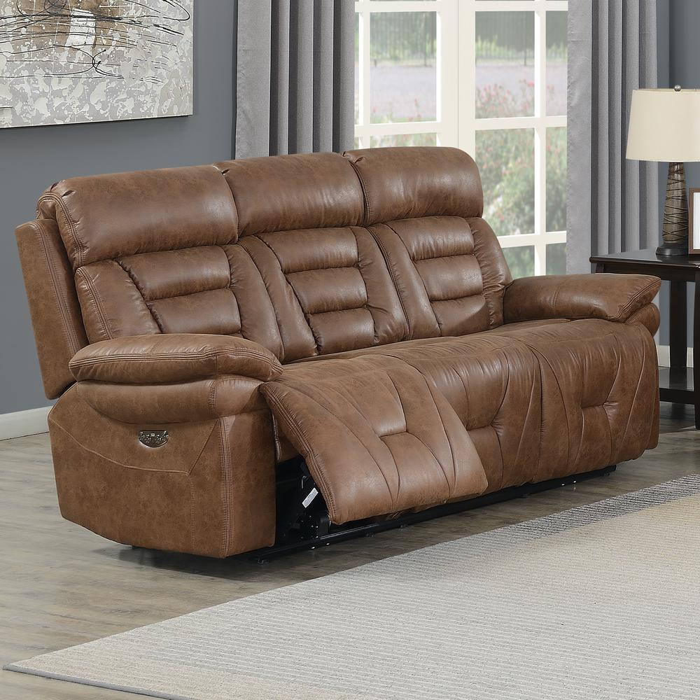 Brock Power Recliner Sofa. The main picture.