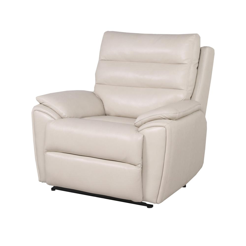 Duval Power Recliner  Chair - Ivory. Picture 2