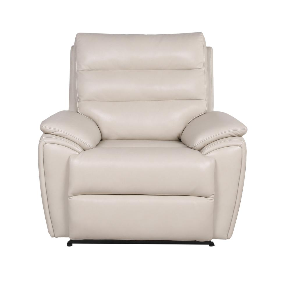 Duval Power Recliner  Chair - Ivory. Picture 3