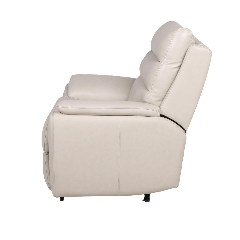 Duval Power Recliner  Chair - Ivory. Picture 5