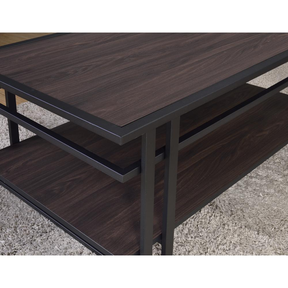 3-Piece Occasional Set, Dark Brown, Espresso finished Silvershield® tops. Picture 8