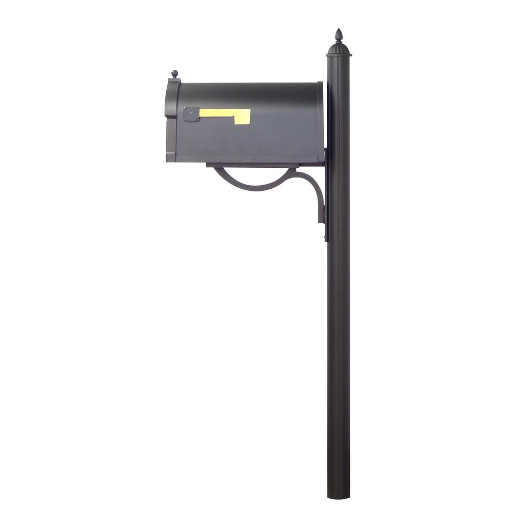 Decorative Mailbox Post. Picture 4