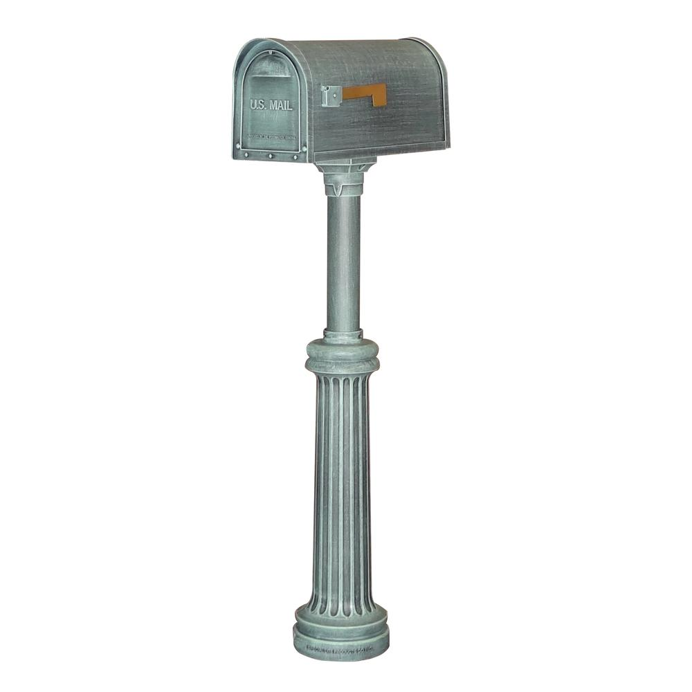 Bradford Wrap Around Base Kit, Direct Burial Mailbox Post. Picture 3