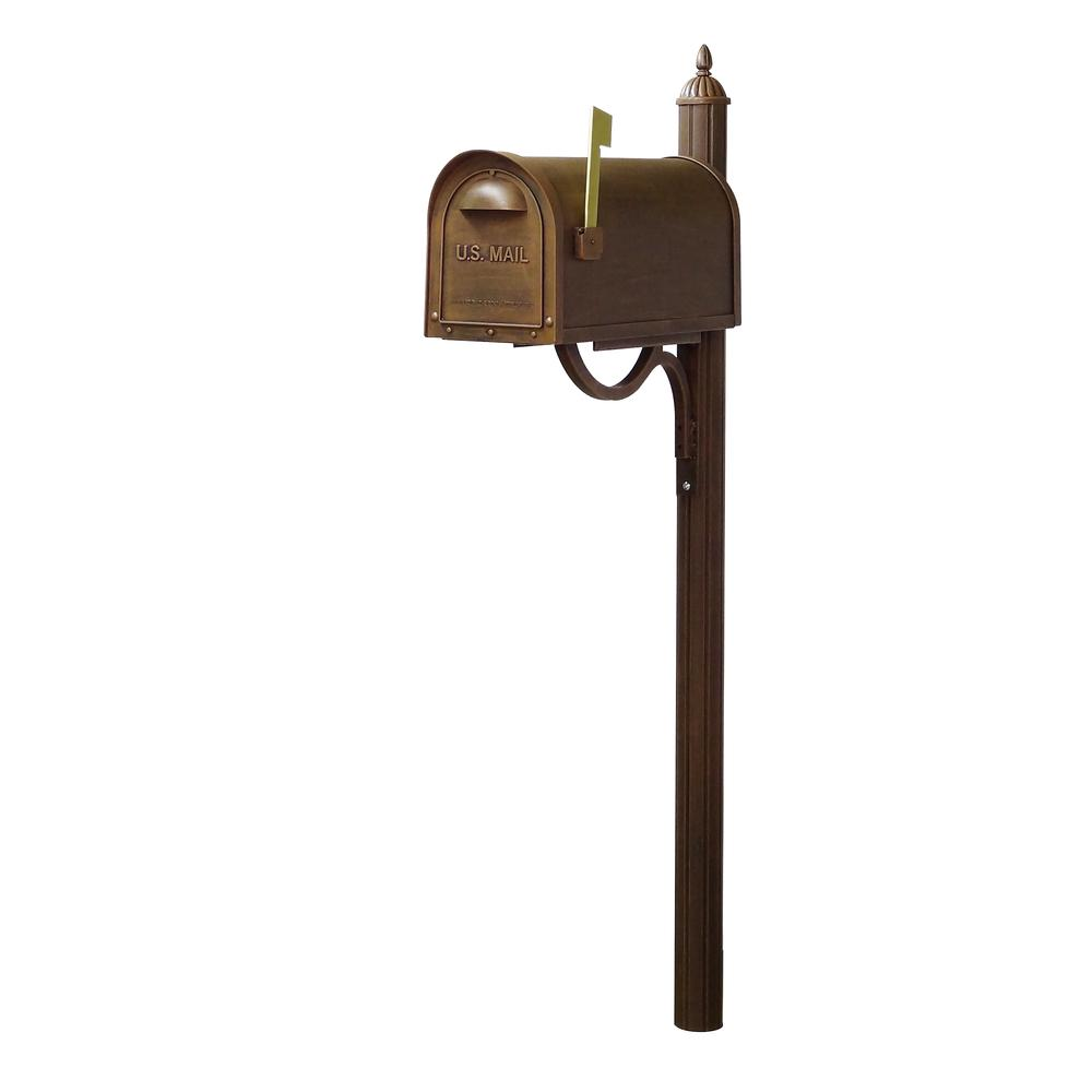 Decorative Mailbox Post. Picture 20