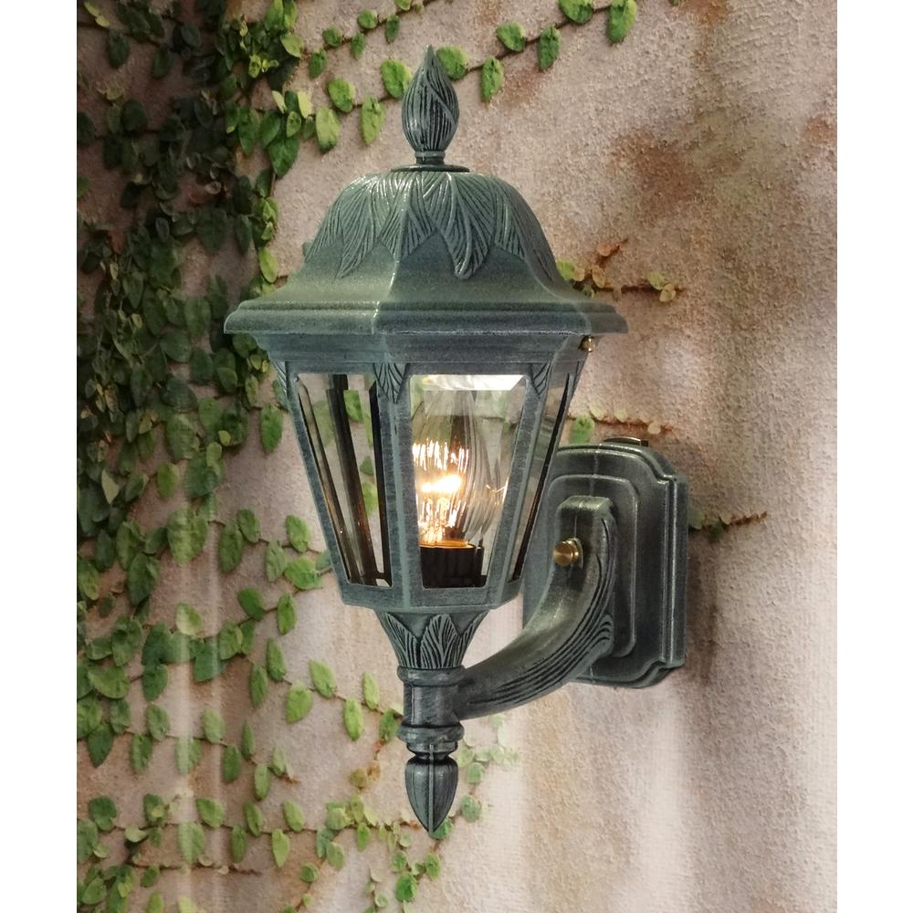Floral Small Bottom Mount Light – Short Tail. Picture 2