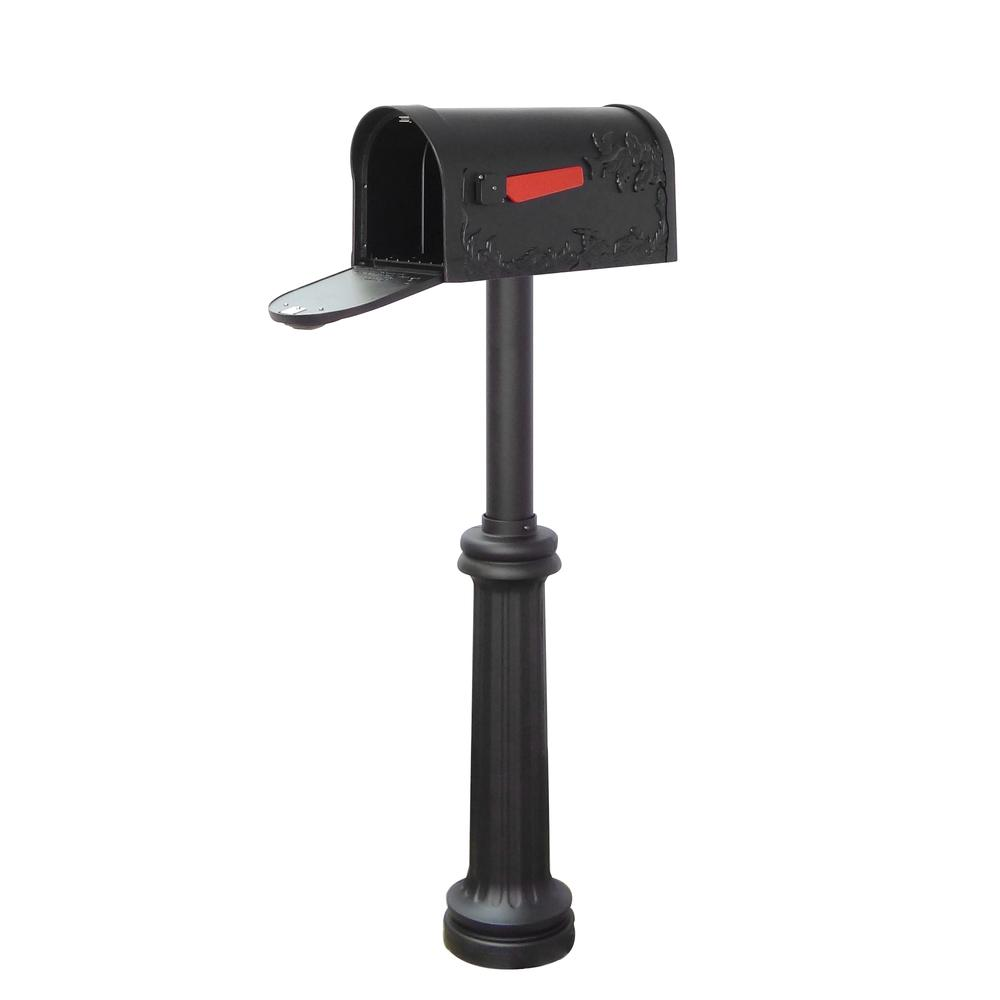 Hummingbird Curbside Mailbox and Bradford Direct Burial Top Mount Mailbox Post. Picture 3
