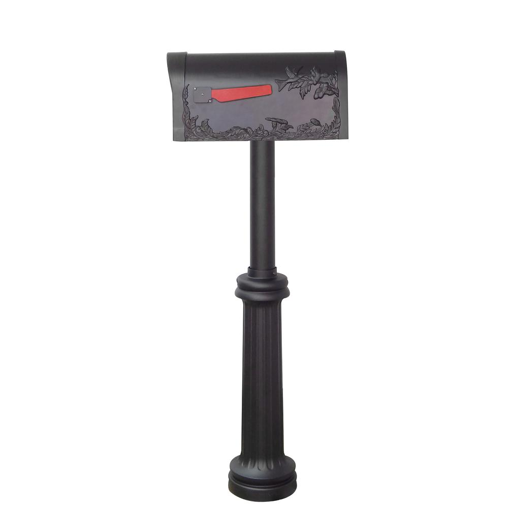 Hummingbird Curbside Mailbox and Bradford Direct Burial Top Mount Mailbox Post. Picture 4