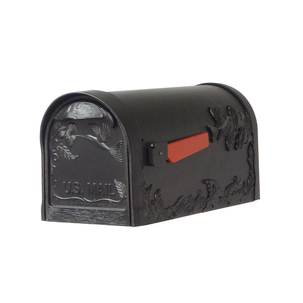 Hummingbird Curbside Mailbox Decorative Aluminum Bird Mailbox. Picture 1