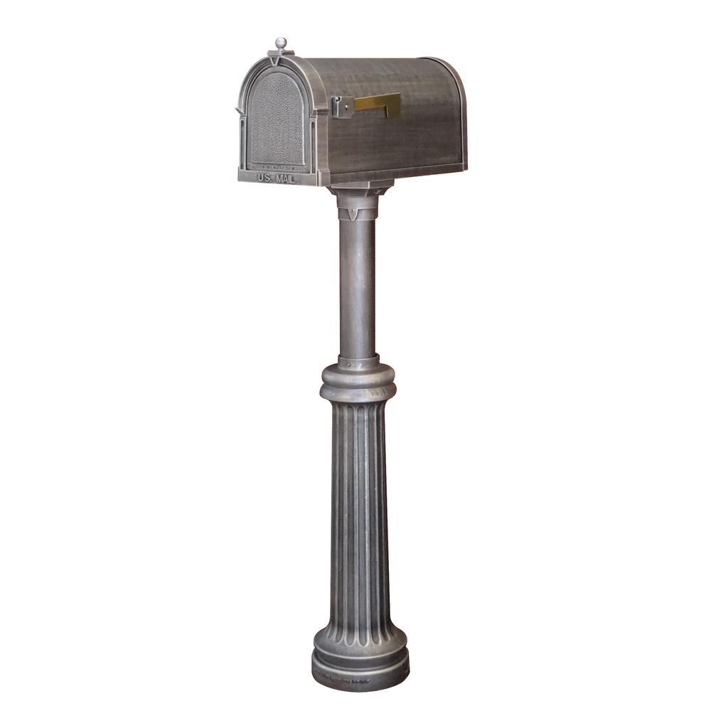 Bradford Wrap Around Base Kit, Direct Burial Mailbox Post. Picture 2