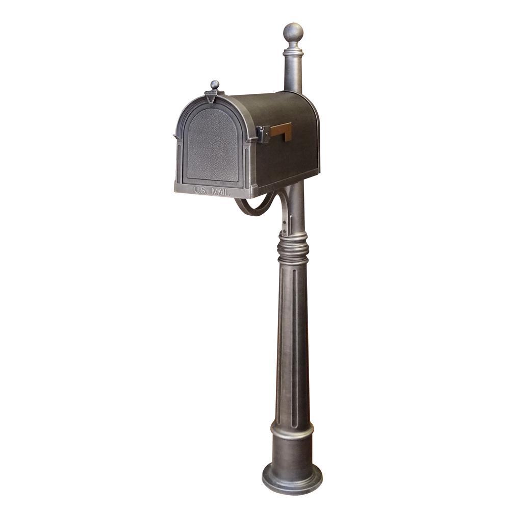 Berkshire Curbside Mailbox Ashland Decorative Aluminum Durable Mailbox Post. Picture 1