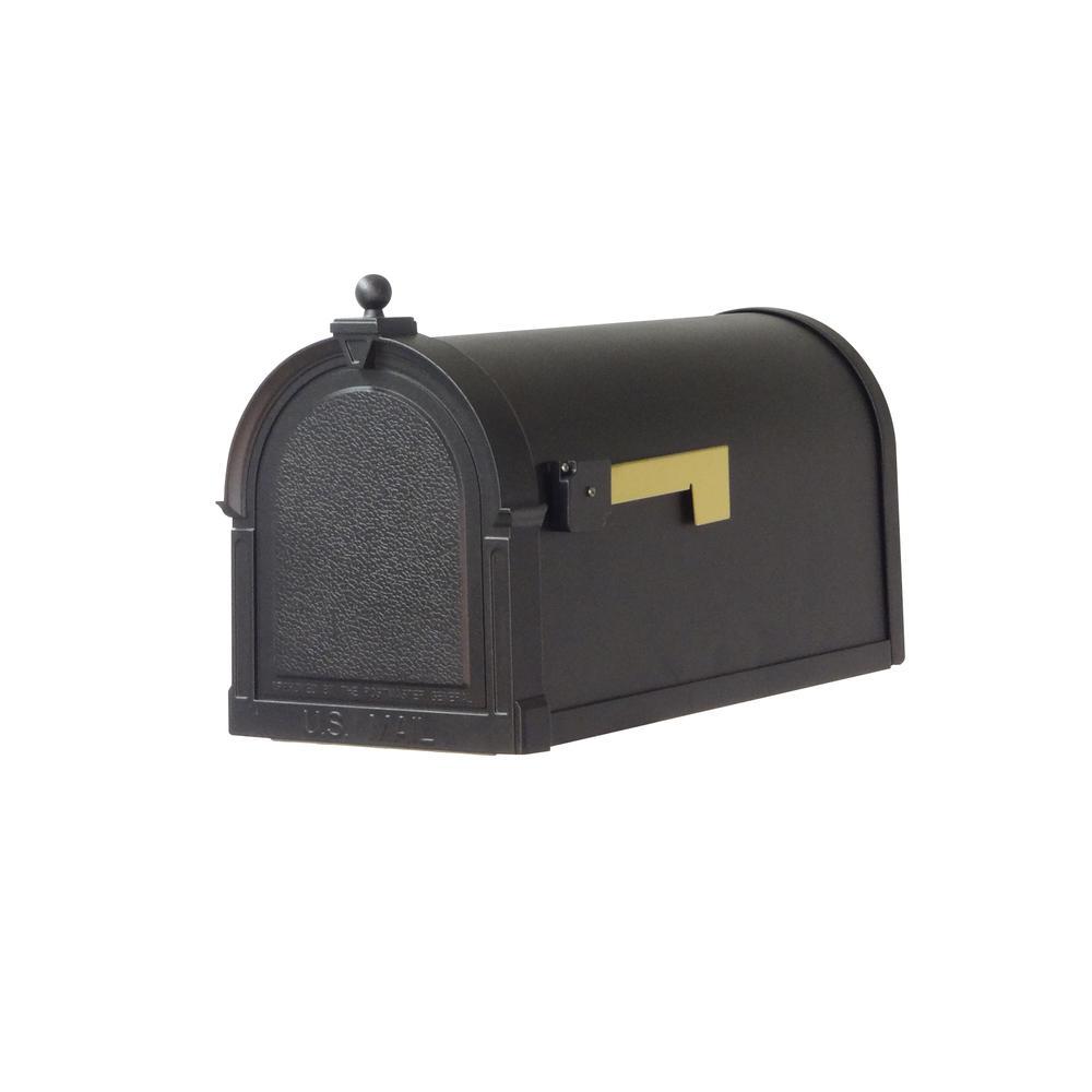 Berkshire Curbside Mailbox Decorative Aluminum Vintage Mailbox. Picture 1