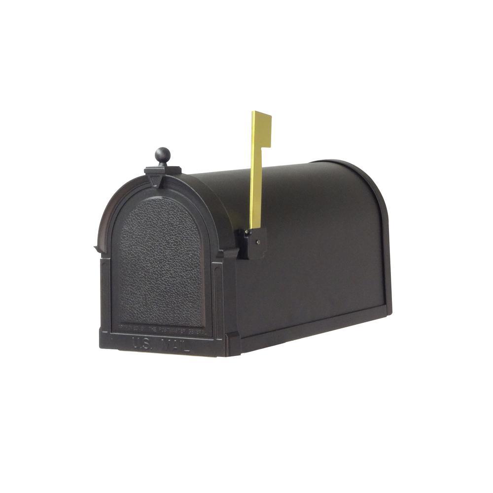 Berkshire Curbside Mailbox Decorative Aluminum Vintage Mailbox. Picture 2