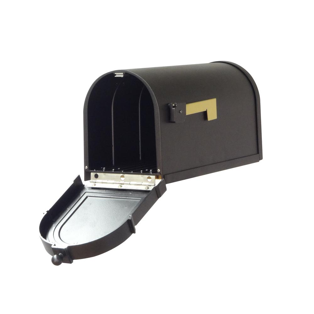 Berkshire Curbside Mailbox Decorative Aluminum Vintage Mailbox. Picture 3