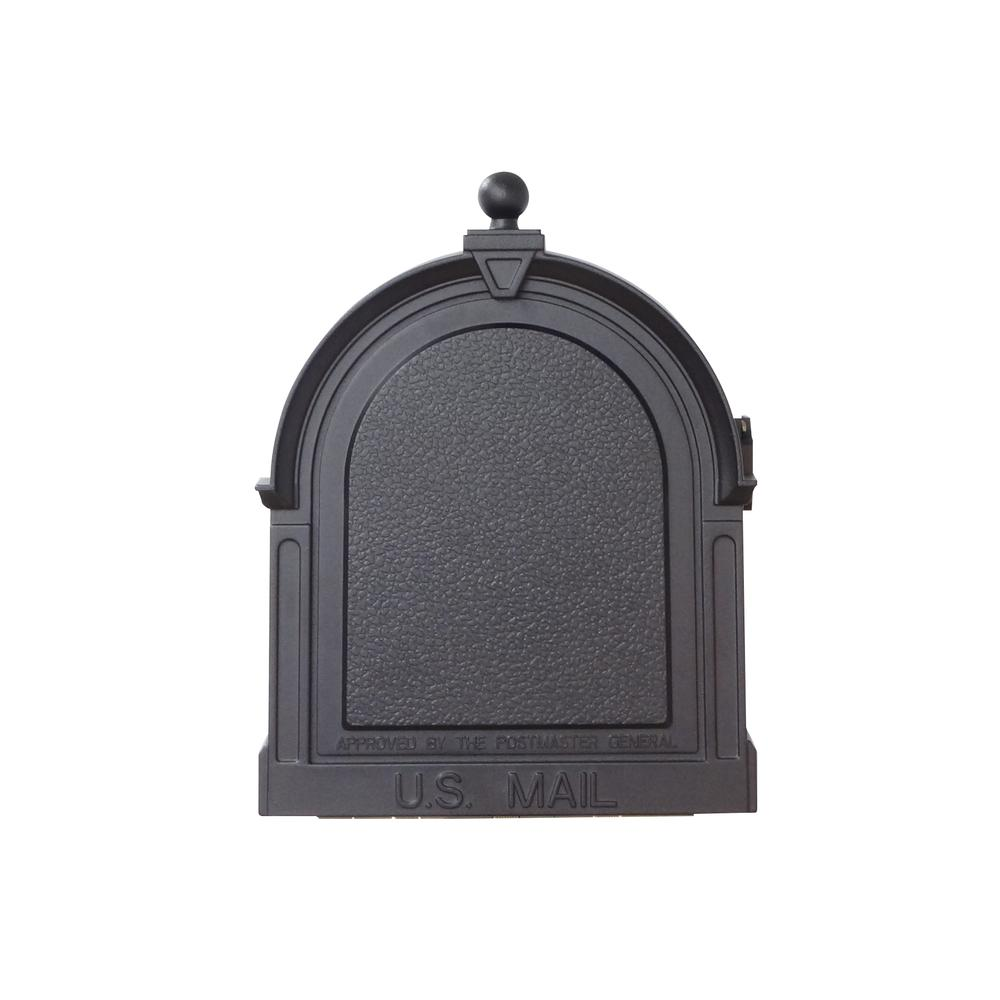 Berkshire Curbside Mailbox Decorative Aluminum Vintage Mailbox. Picture 6