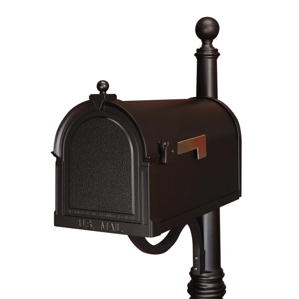 Berkshire Curbside Mailbox Decorative Aluminum Vintage Mailbox. Picture 7