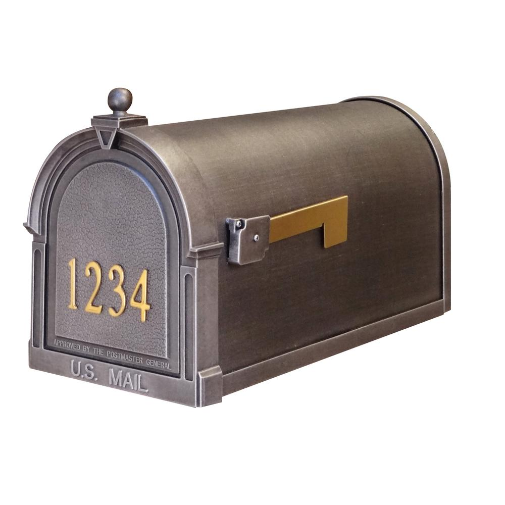 Berkshire Curbside Mailbox with Front Numbers. Picture 1