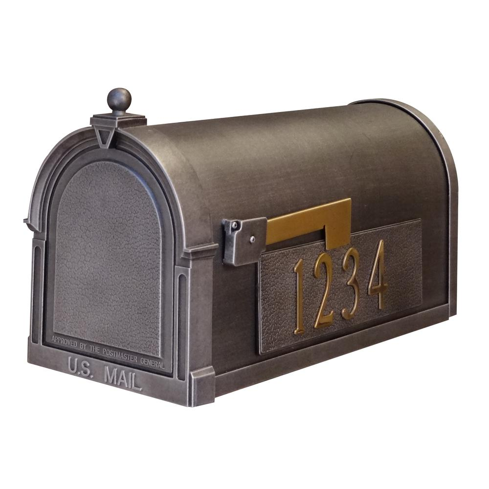 Berkshire Curbside Mailbox with Side Numbers. Picture 1