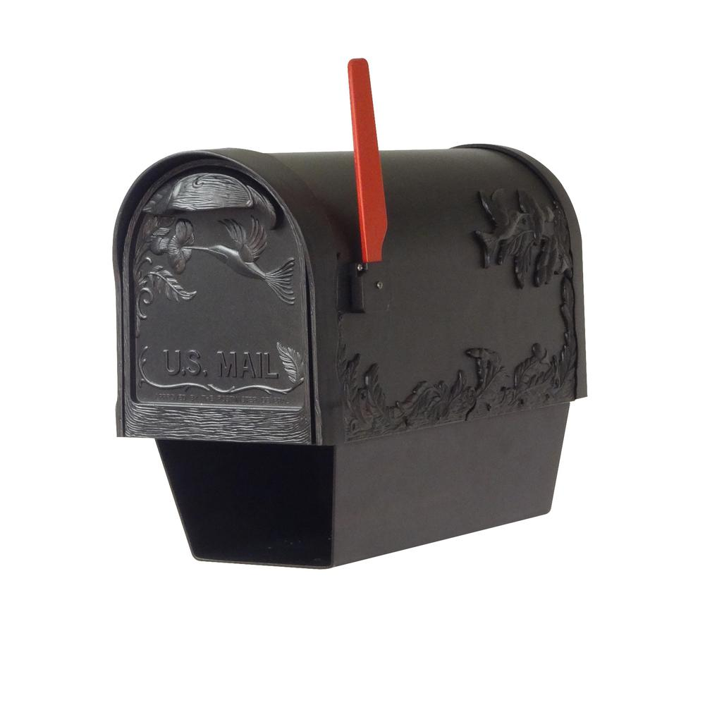 Hummingbird Curbside Mailbox with Paper Tube. Picture 2