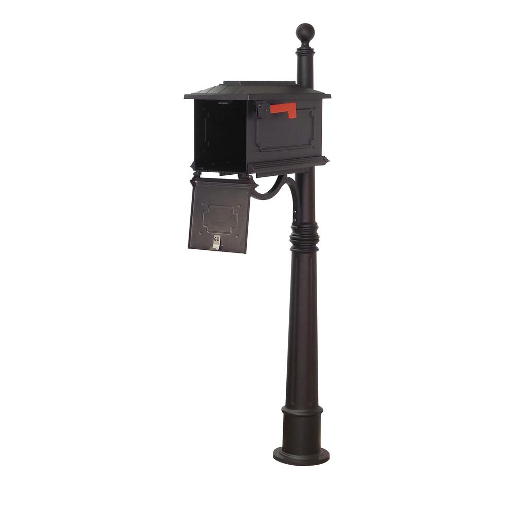 Kingston Curbside Mailbox and Ashland Decorative Aluminum Durable Mailbox Post. Picture 3