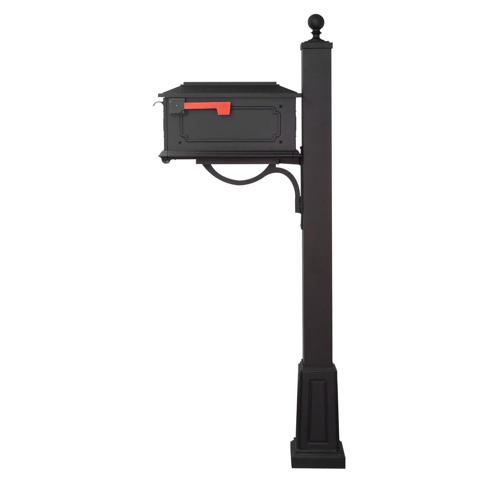 Kingston Curbside Mailbox and Springfield Mailbox Post with Base. Picture 4