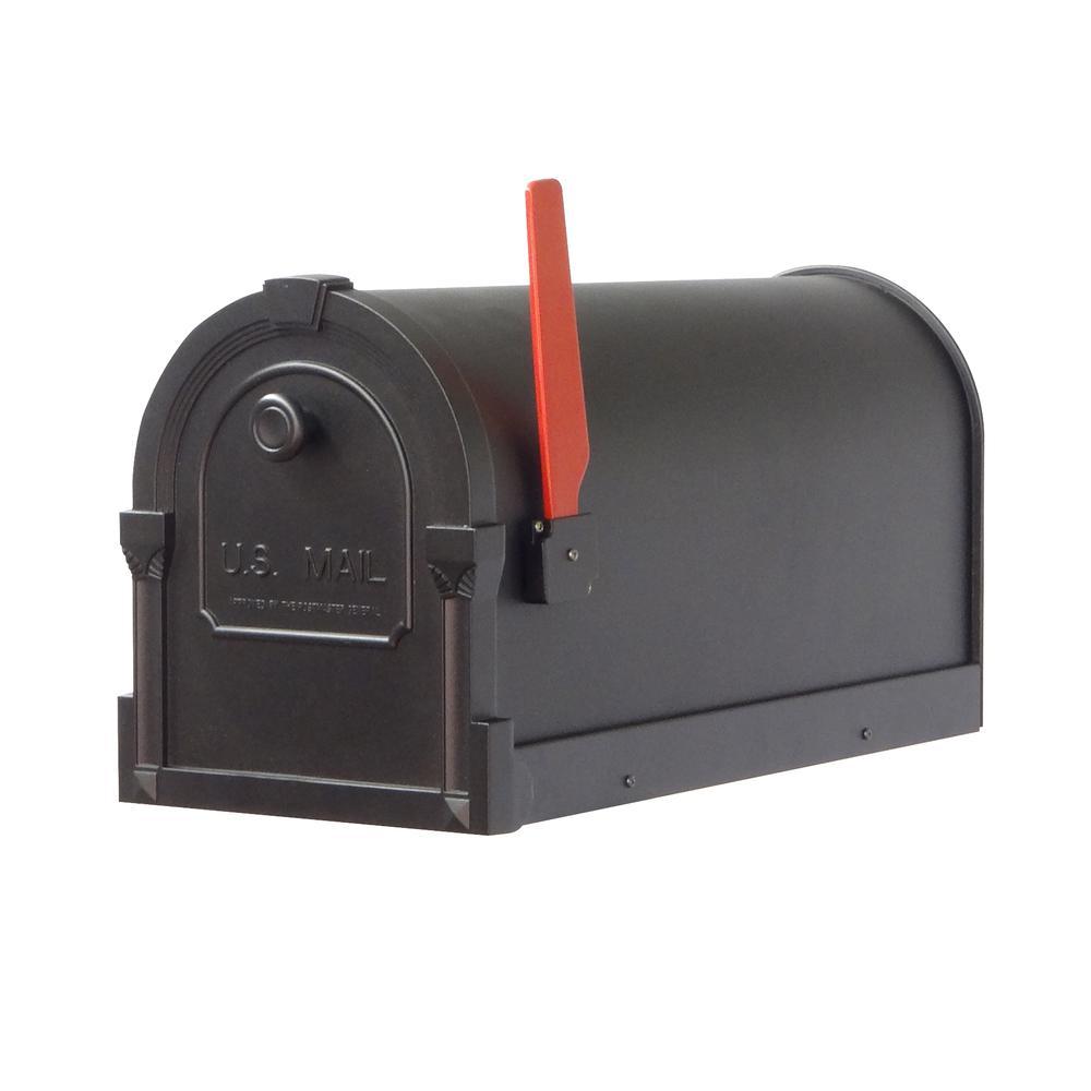 Savannah Curbside Mailbox Decorative Aluminum Mailbox. Picture 2