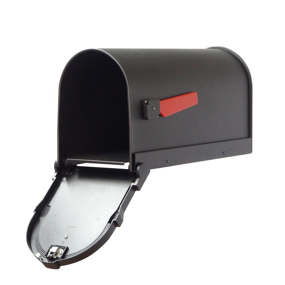 Savannah Curbside Mailbox Decorative Aluminum Mailbox. Picture 3