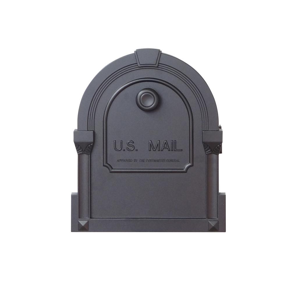 Savannah Curbside Mailbox Decorative Aluminum Mailbox. Picture 6