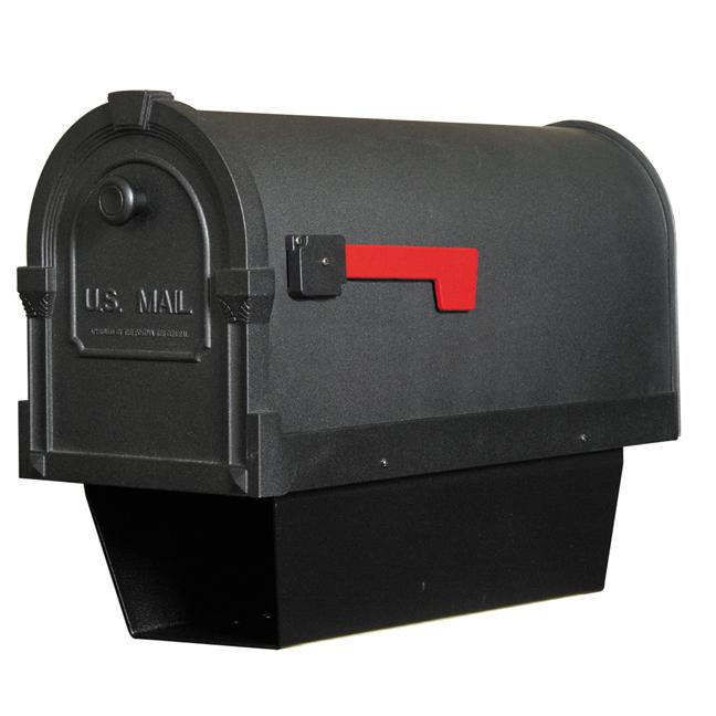 Savannah Curbside Mailbox With Paper Tube. Picture 1