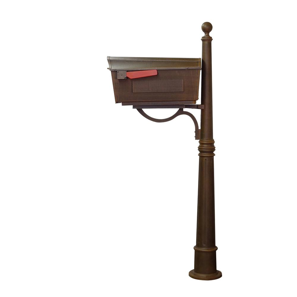 Town Square Curbside Mailbox and Ashland Mailbox Post Unit. Picture 5