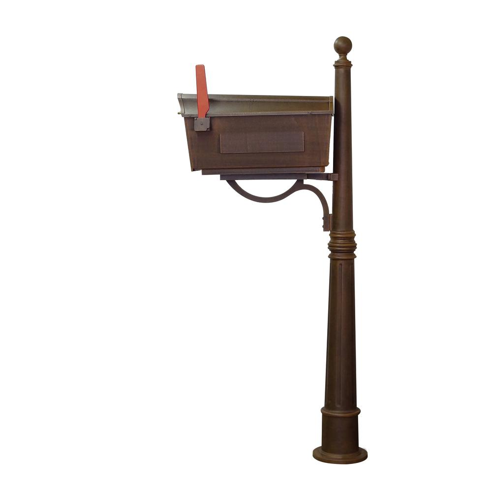 Town Square Curbside Mailbox and Ashland Mailbox Post Unit. Picture 6