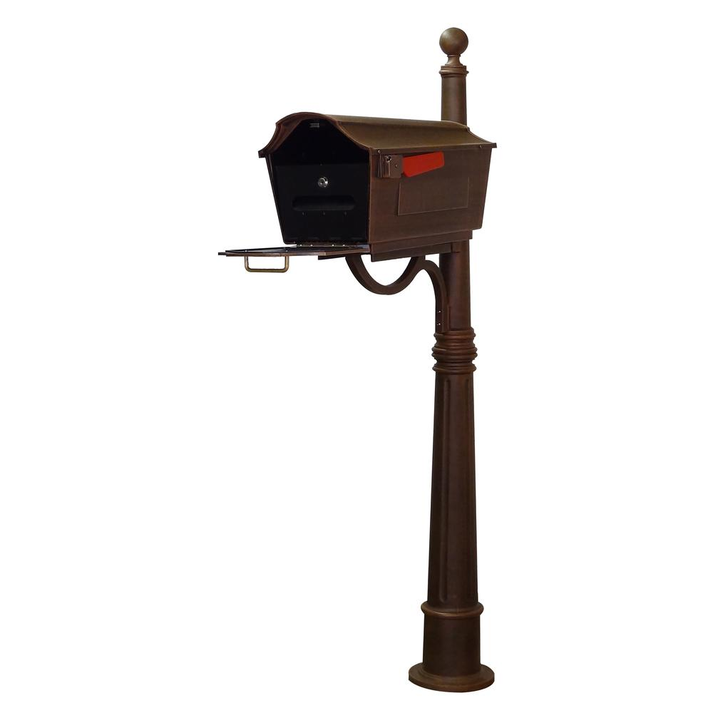 Town Square Curbside Mailbox and Ashland Mailbox Post Unit. Picture 1