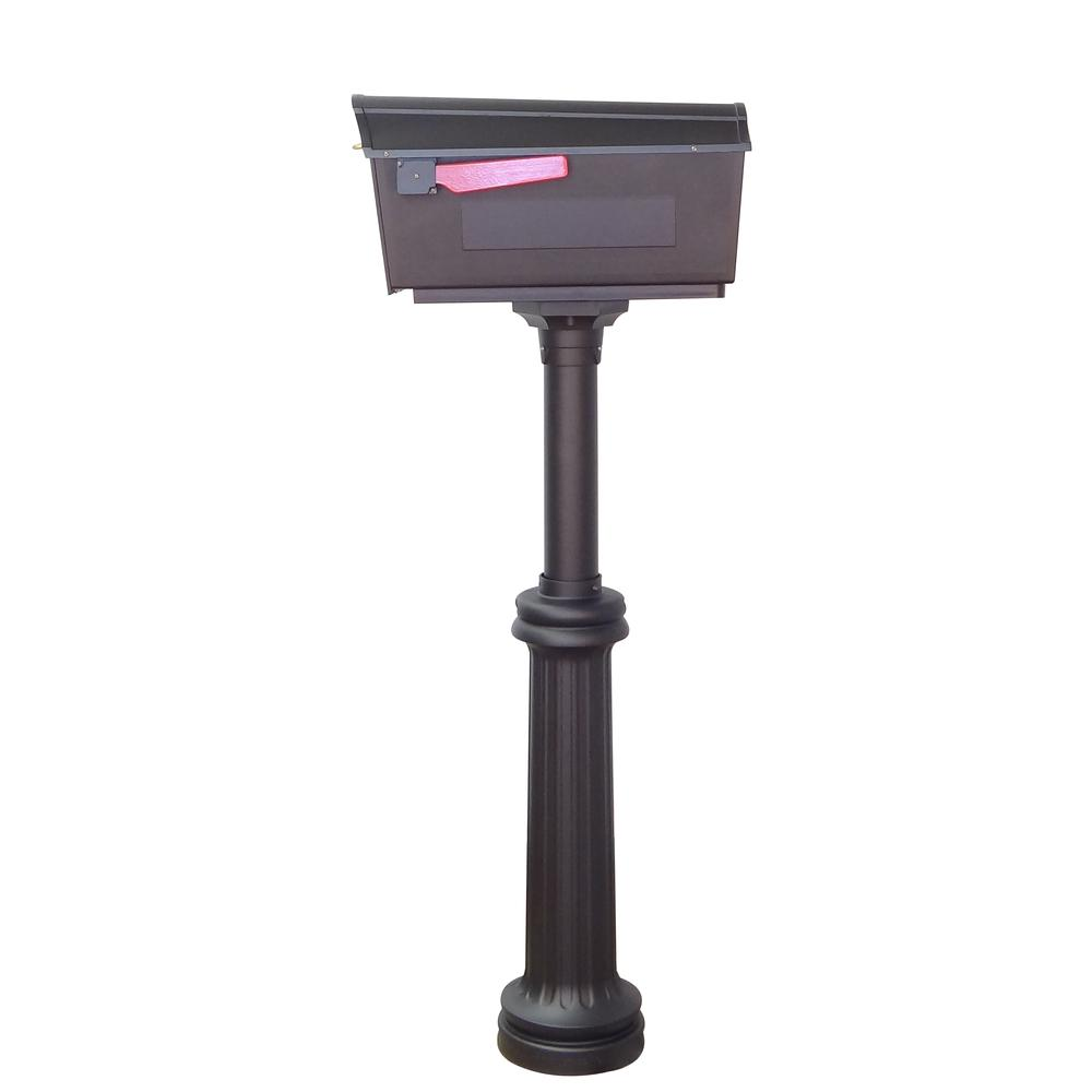 Town Square Curbside Mailbox and Bradford Mailbox Post. Picture 5