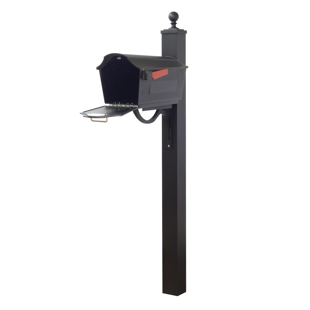 Town Square Curbside Mailbox and Springfield Mailbox Post. Picture 4