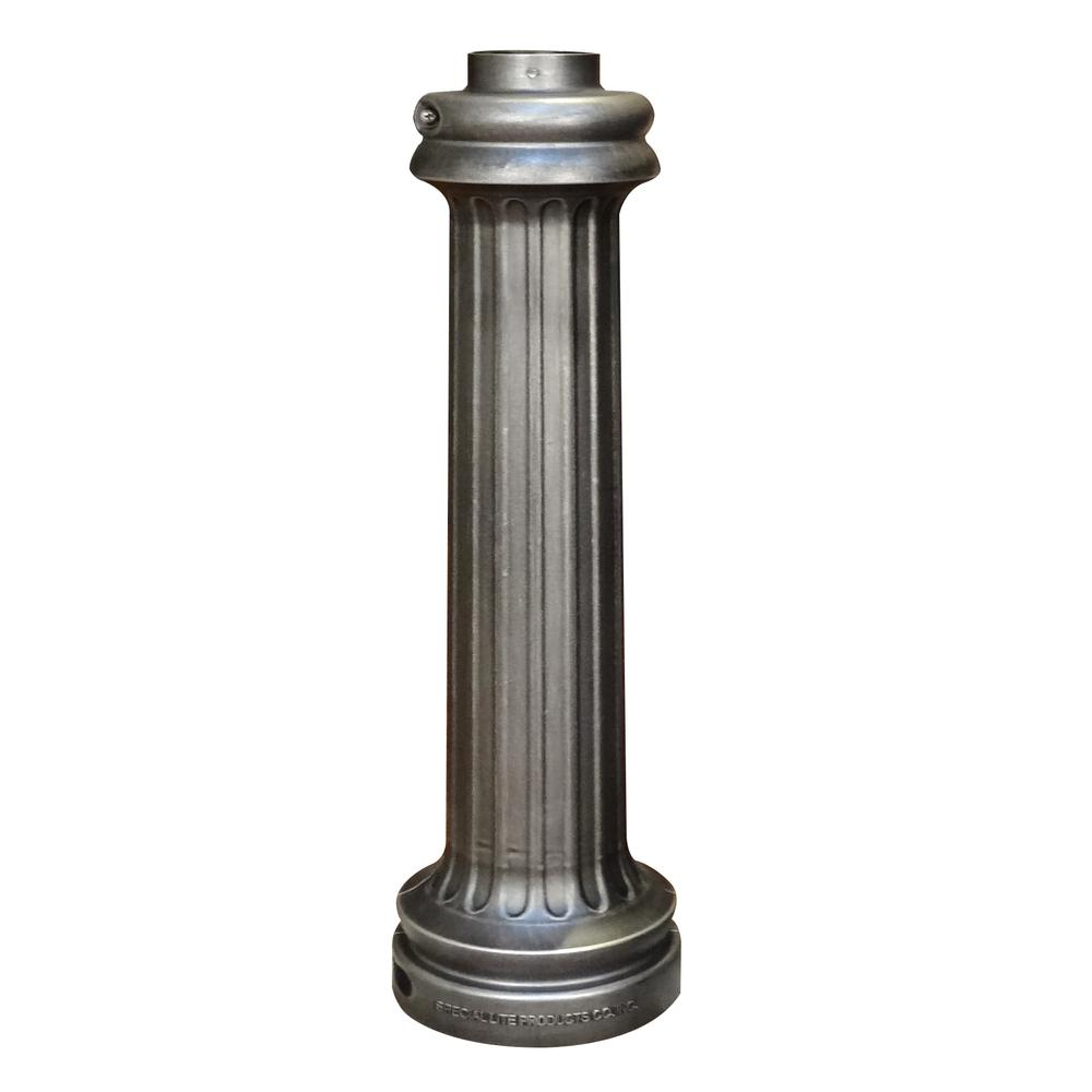 """Wrap Around Base for 3"""" O/D Pole. Picture 1"""