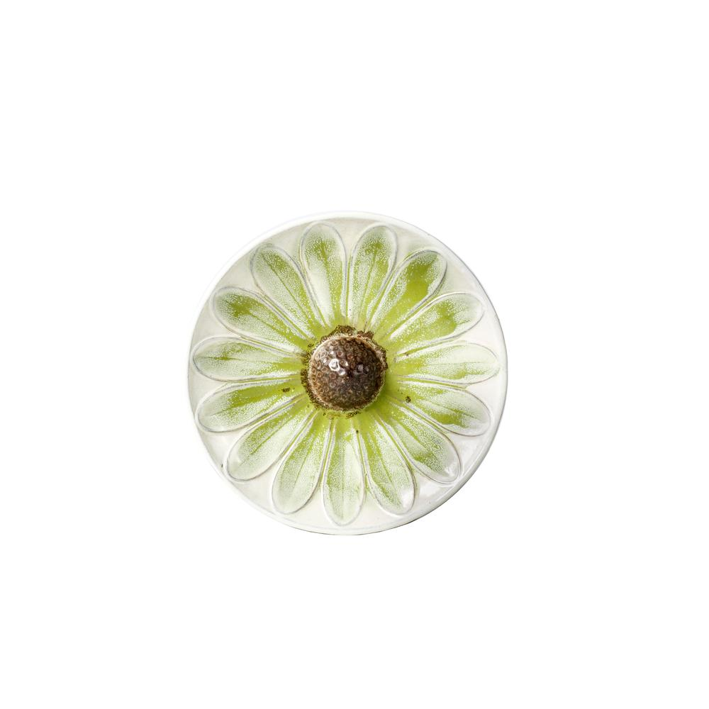 Daisy Birdbath - Green. Picture 1