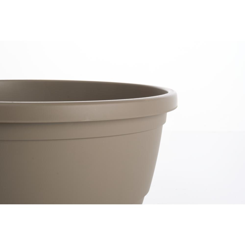 Libis Plant Bowl with attached saucer in Tortora. Picture 1