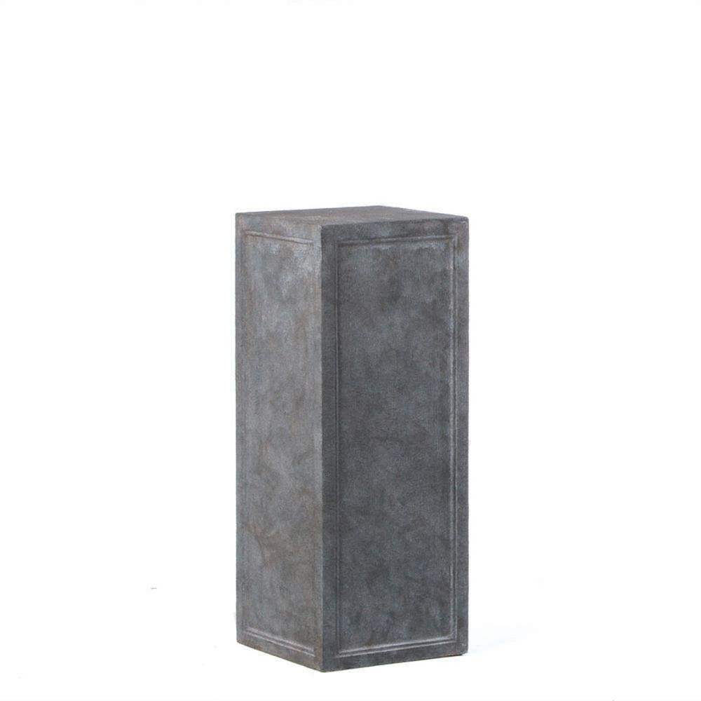 Tall Contadina Pedestal, Stromcloud Finish. Picture 1