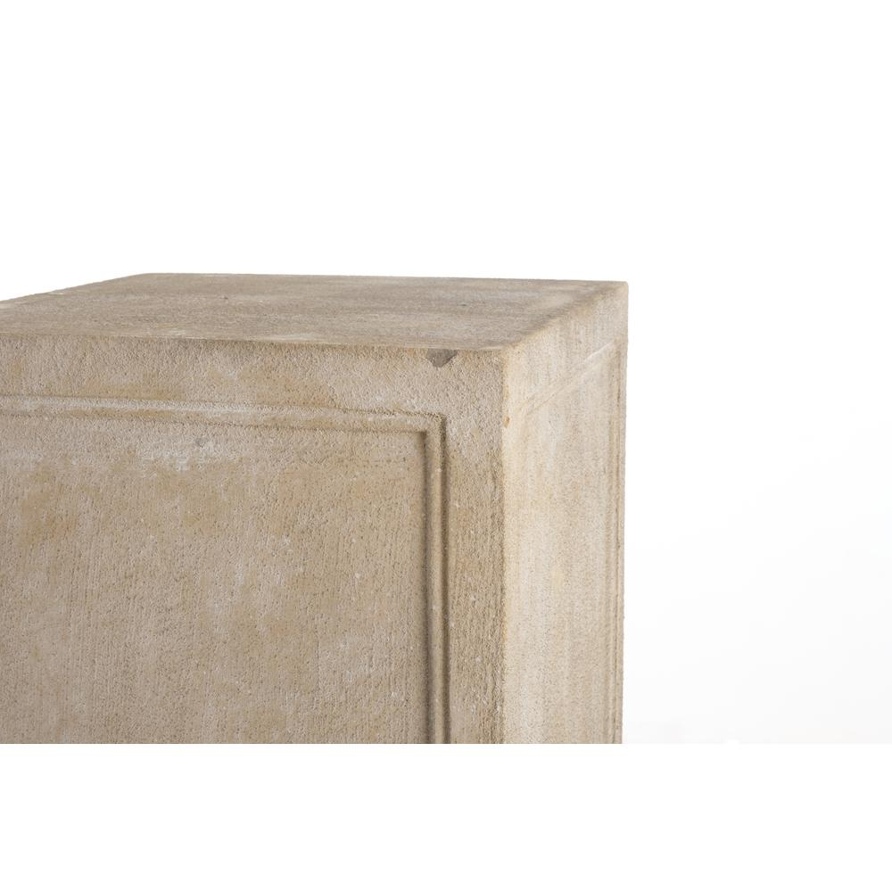 Tall Contadina Pedestal, Tallow Finish. Picture 2