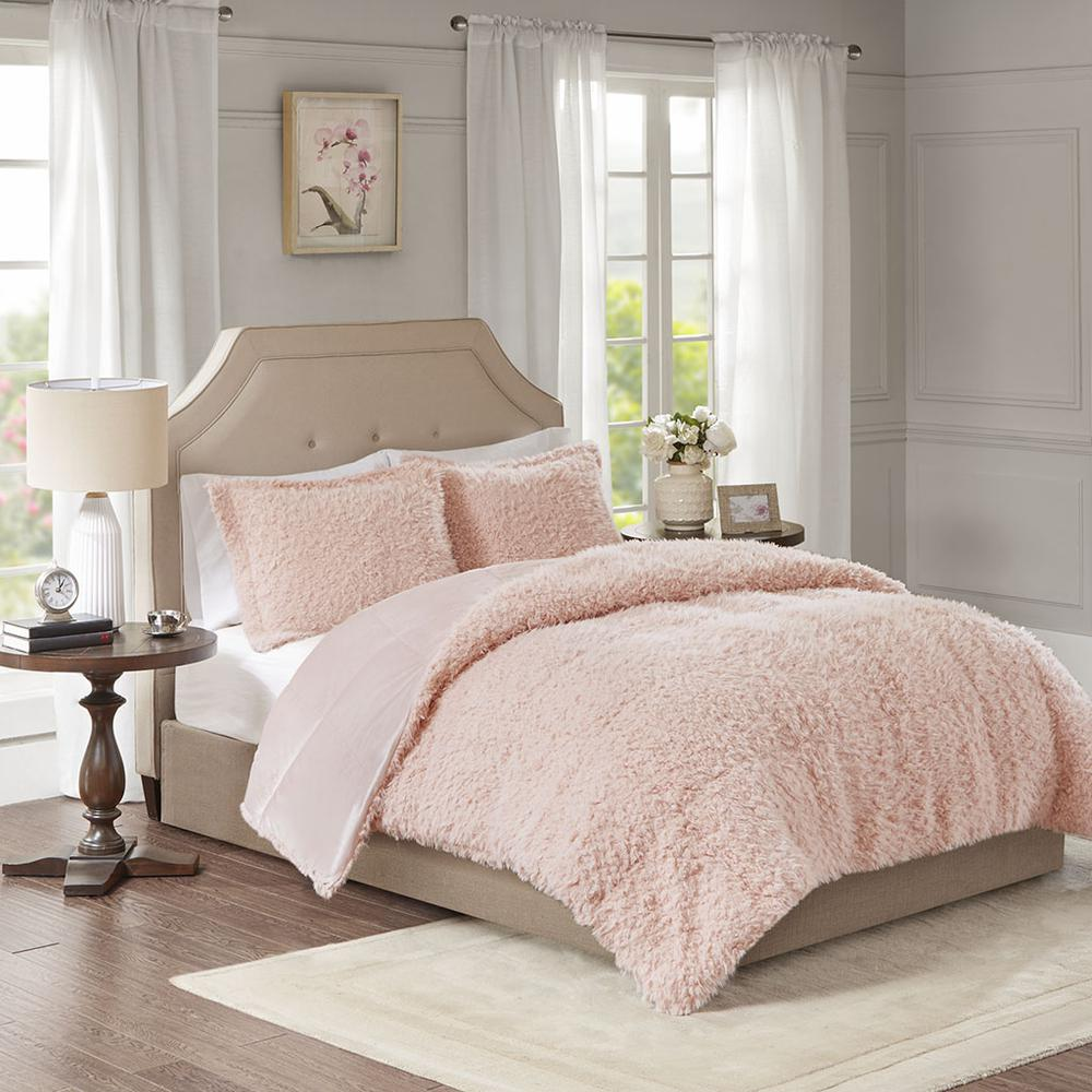 100% Polyester Solid Mohair Comforter Set,MP10-6005. Picture 2