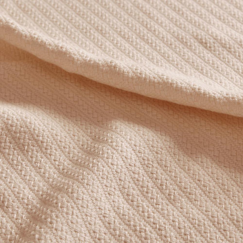 "100% Cotton Blanket w/ 1"" Self Hem,MP51N-4640. Picture 9"