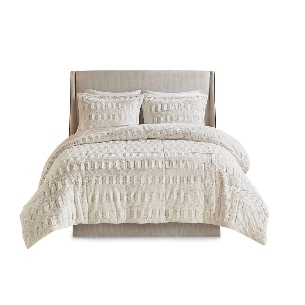 100% Polyester Back Print Long Fur Comforter Set,MP10-6210. Picture 20