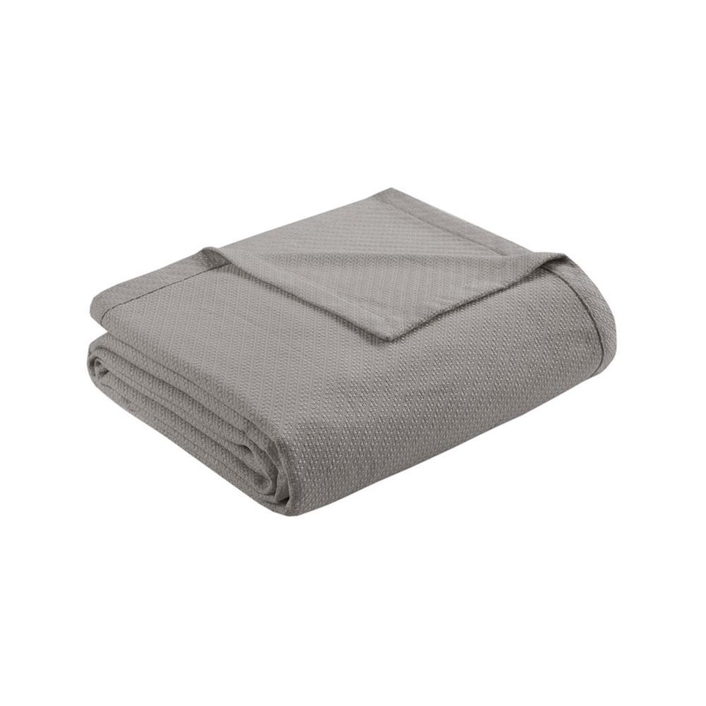 "100% Cotton Blanket w/ 1"" Self Hem,BL51N-0679. Picture 16"