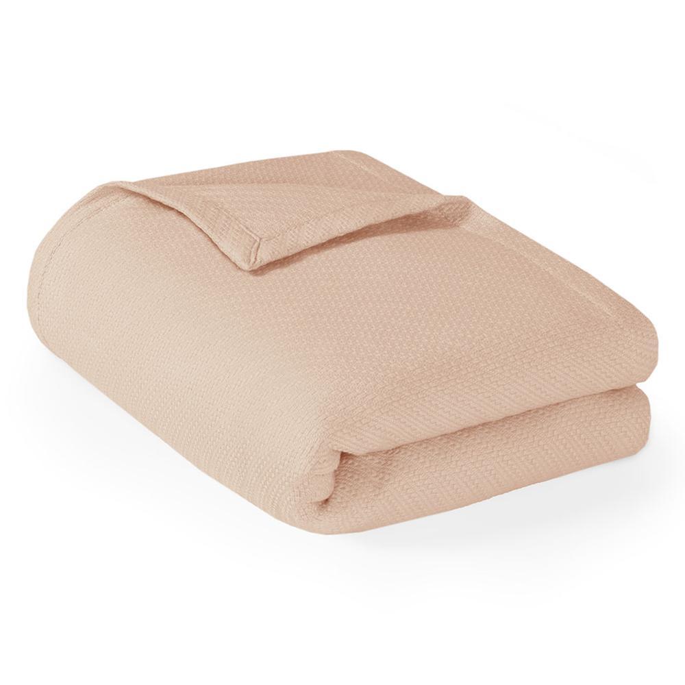 "100% Cotton Blanket w/ 1"" Self Hem,MP51N-4640. Picture 13"