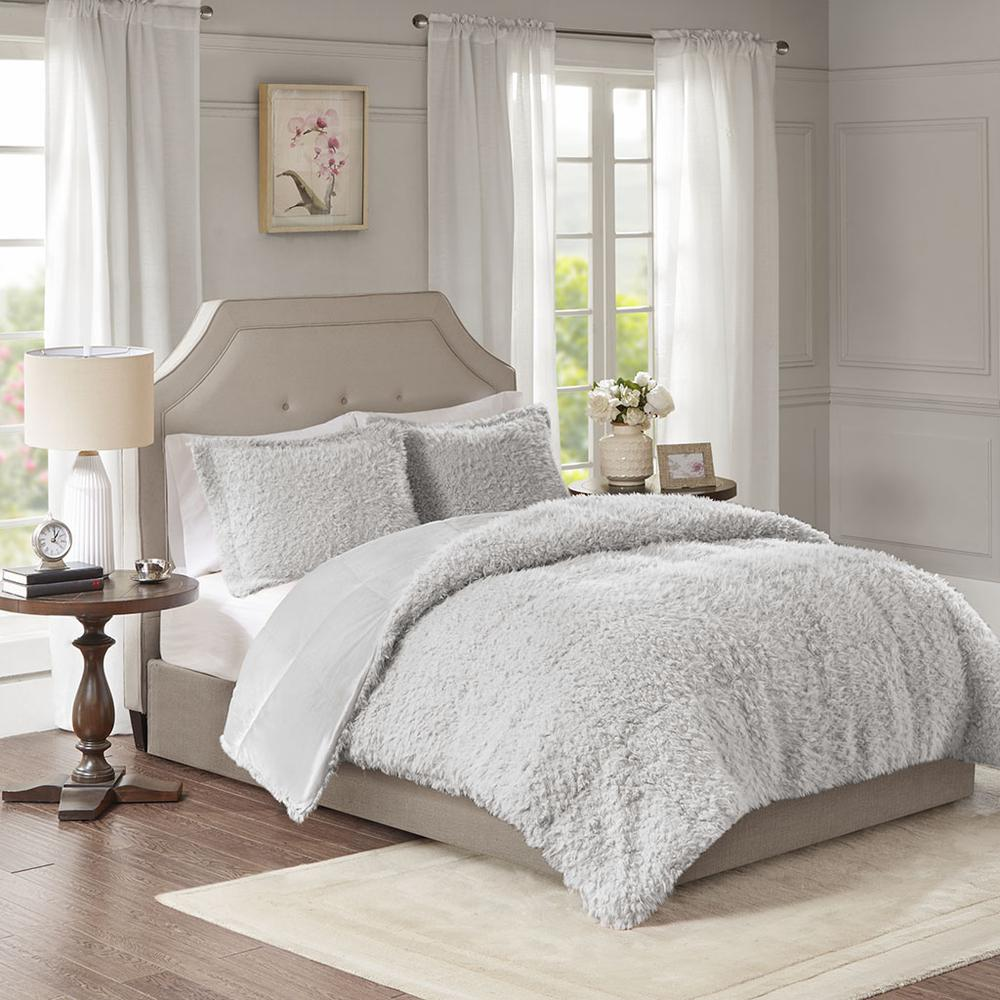 100% Polyester Solid Mohair Comforter Set,MP10-6011. Picture 2